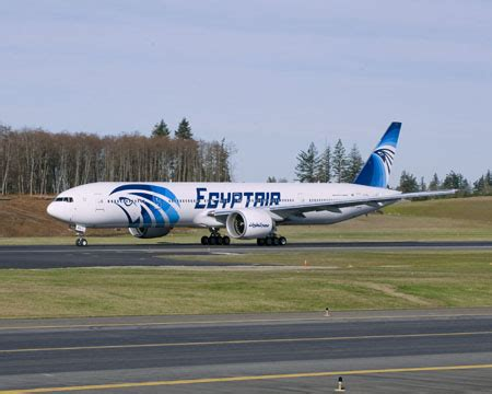 boeing delivers egyptair's first 777 300er for long haul