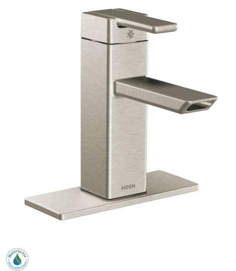 moen brushed nickel kitchen faucet faucet s6700bn in brushed nickel by moen