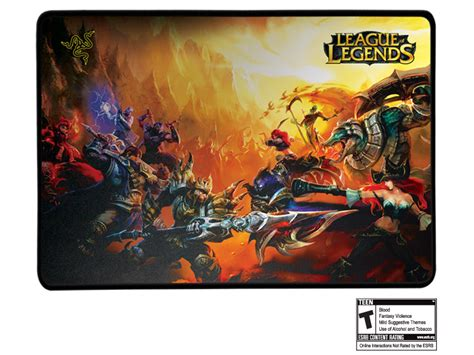 League Of Legends Mouse Mat by League Of Legends Collector S Edition Razer Goliathus