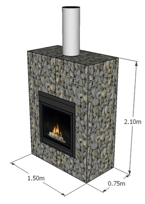 gabion outdoor fireplace price place designs new zealand
