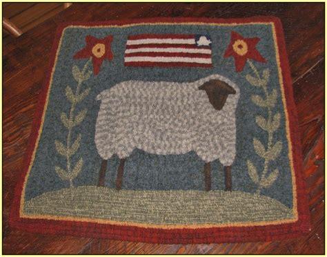 primitive rug hooking supplies primitive rug hooking patterns free home design ideas