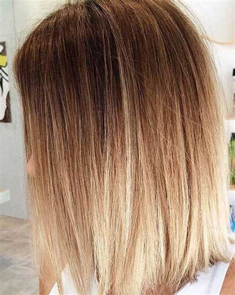 ombre hair color bob haircut 20 best long bob ombre hair short hairstyles 2017 2018