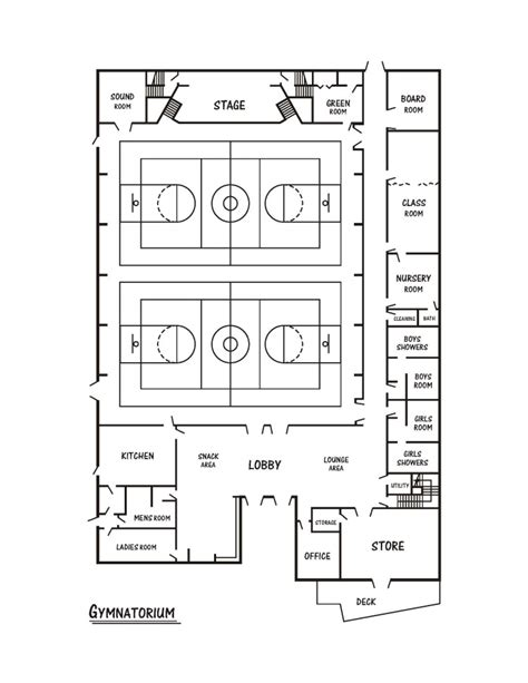 gymnasium floor plan junior j free school junior j free school