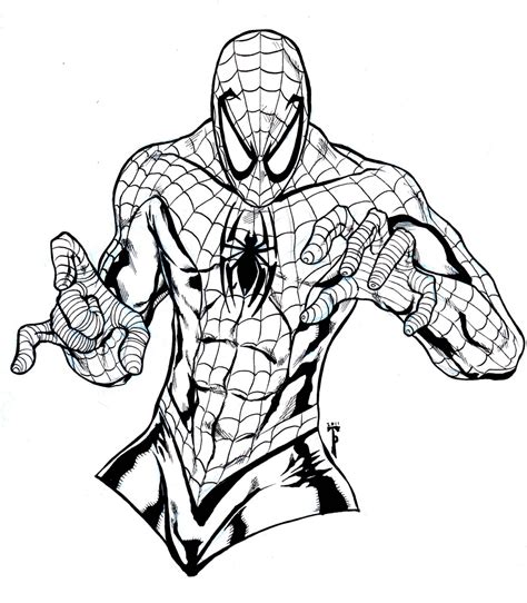 free coloring pages of the amazing spiderman