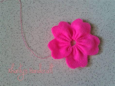 tutorial bunga lily dari flanel khanty s handcraft bros bunga flanel part i