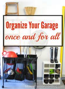 garage organization tools bikes and rakes oh my
