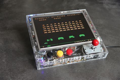 raspberry pi game console retro gaming arcade console with raspberry pi retropie