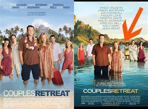 Couples Retreat Quot Couples Retreat Quot Poster In Uk Removes Black Huffpost