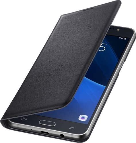samsung flip wallet cover black j710 galaxy j7 2016 skroutz gr