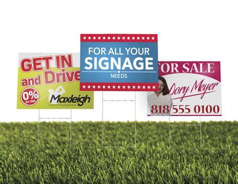 backyard signs yard signs