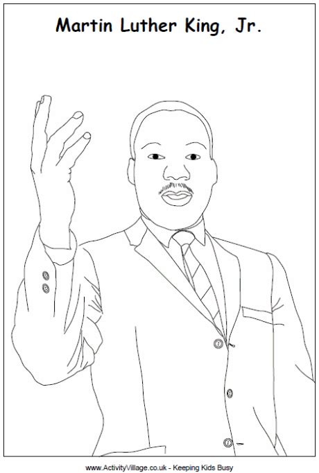 Martin Luther King Paper New Calendar Template Site Free Dr King Coloring Pages Pdf