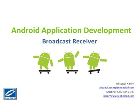 android broadcastreceiver android application component broadcastreceiver tutorial