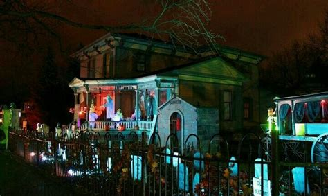 Tillson Street Romeo Mi Halloween Projects Outdoor