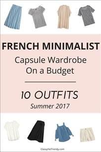 create a minimalist capsule wardrobe 10 summer