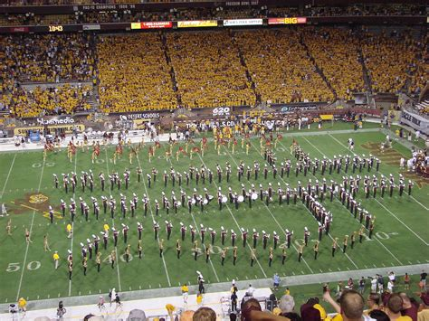 arizona state student section sun devil marching band wikipedia