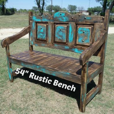texas bench furniture outdoor bench rustic