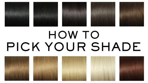 how to pick a lshade how to pick your perfect luxy hair extensions shade youtube