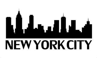 Skyline Outline by Nyc Skyline Outline New York City Skyline Outline Http Www Ebay Co Uk Itm New York City