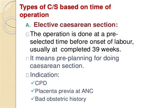 elective primary cesarean section caesareansection best
