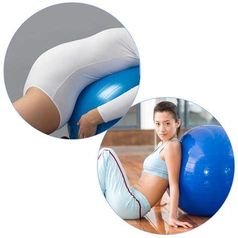 Bola Fitness Senam Olahraga Tanpa Pompa 65 Cm 001 bola pilates fitness 65cm blue jakartanotebook