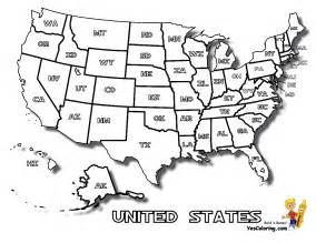 us map coloring page map of united states to print for