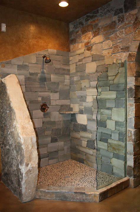 stone veneer bathroom bannack ledge thin veneer montana rockworks