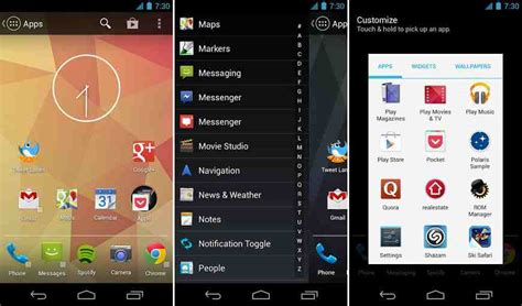 android launcher 25 best android launchers for customization 2017