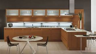 Kitchen Woodwork Designs 20 Sleek And Modern Wooden Kitchen Designs Home Design Lover