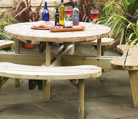 round picnic benches for sale grange round picnic table gardensite co uk
