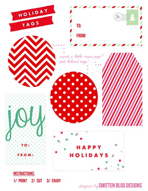 printable gift tag paper free printables smitten blog designs