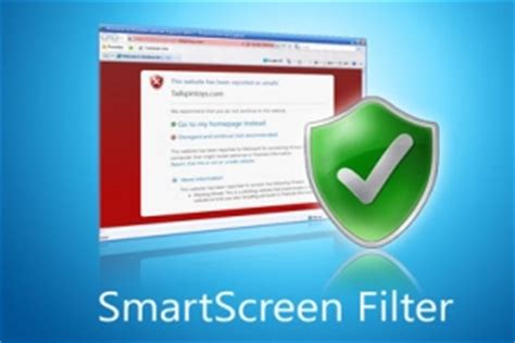 enable smartscreen filter for web content in windows 10