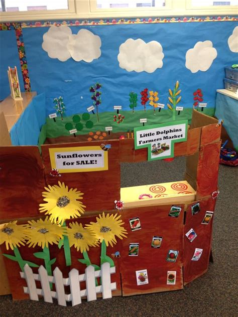 Preschool Garden Ideas Growing And Changing Farmers Market Garden This Dramatic Play Area Is A Great Way To Teach