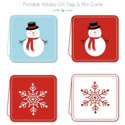 gift tags and mini cards free printable tip junkie