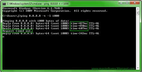 cara membuat koneksi wifi cepat dengan cmd cara melihat kecepatan internet dengan cmd masterbama