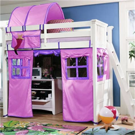 S Cot E Loft Bed For A Little Girls Room