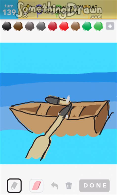 how to draw a rowboat the gallery for gt rowboat draw something