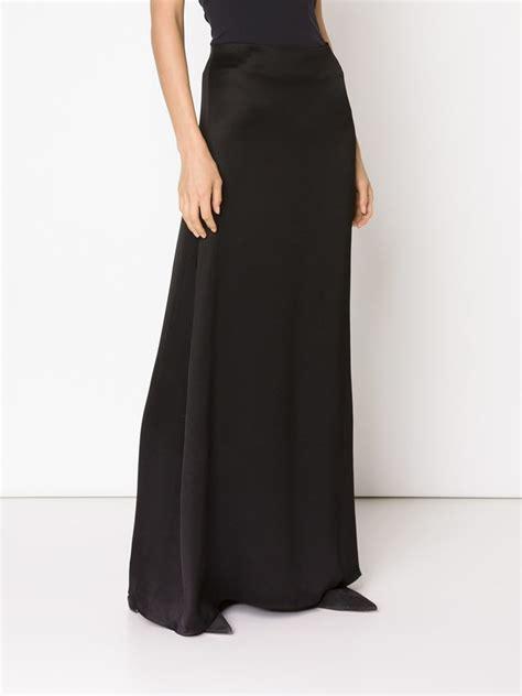 Line Maxi a line black maxi skirt dress ala