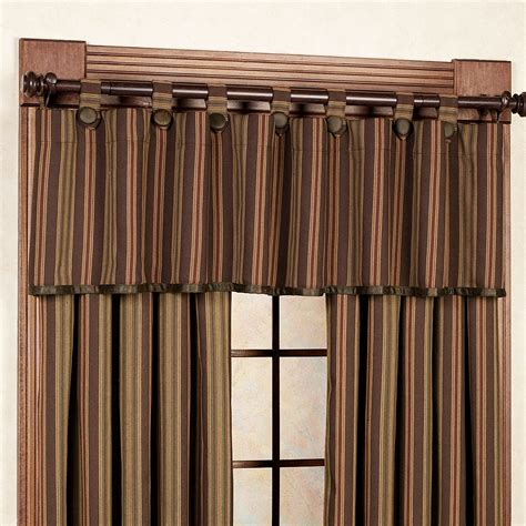 wilderness curtains wilderness ridge striped window treatments