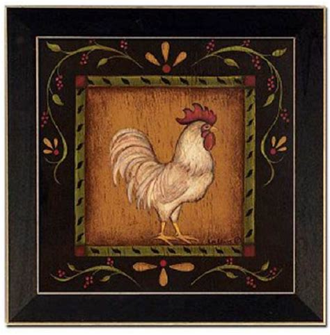 Rooster Pictures For Kitchen by Rooster Rooster Kitchen Decor Country Kitchen Rooster