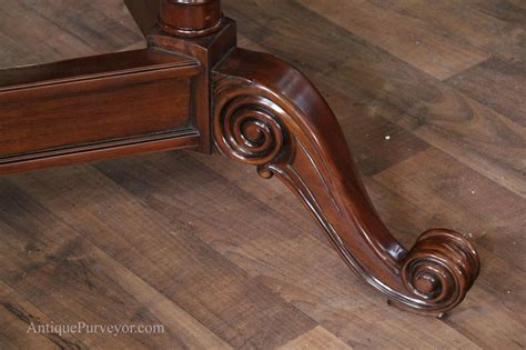round mahogany dining 72 quot high end round mahogany dining with duncan phyfe