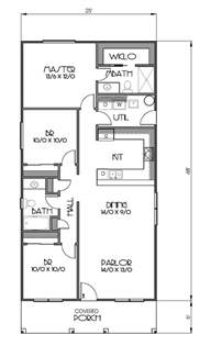 Basement Floor Plans 1200 Sq Ft Cottage Style House Plan 3 Beds 2 Baths 1200 Sq Ft Plan