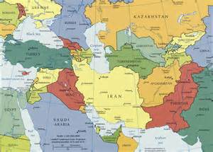 Map Central Asia by Pics Photos Caucasus And Central Asia Political Map 2003