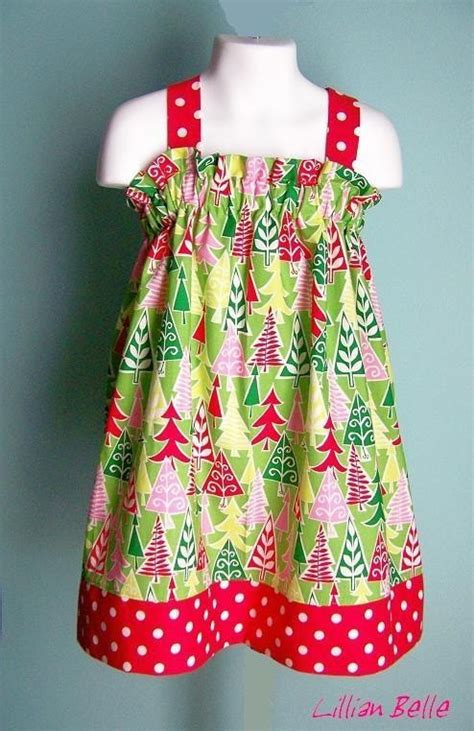 lillian belle girls christmas tree holiday dress michael
