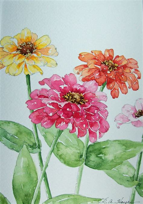 watercolor garden tutorial best 25 watercolor flowers tutorial ideas on pinterest