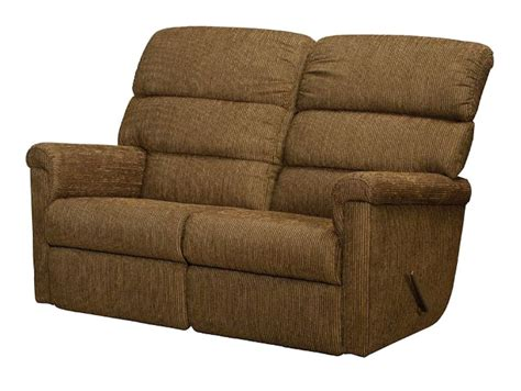 Wall Hugger Reclining Loveseat by Lambright Heritage Loveseat Recliner Glastop Inc