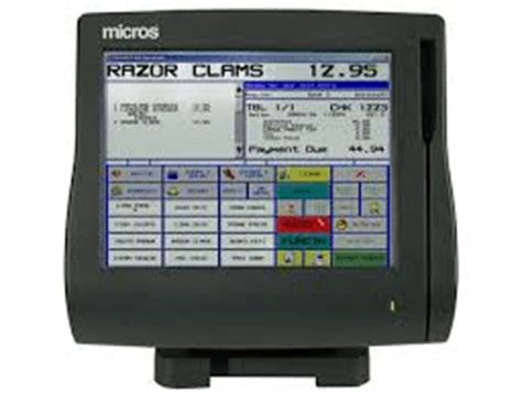 Micros Compatible Gift Cards - micros compatible workstation 4 model 400614 001 the pos depot custom logo gift