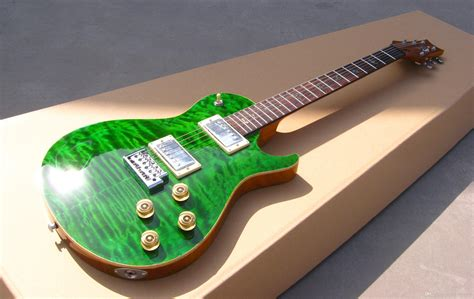 best new guitars oem guitar new arrival rps electric guitar see thru green