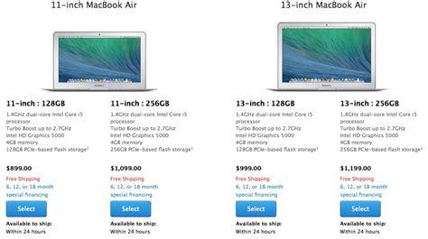 Update Macbook Air 2014 macbook air gets speed bump price hair cut