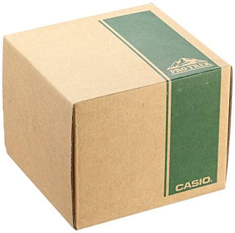 Casio Men's 'PRO TREK' Quartz Resin and Silicone Casual