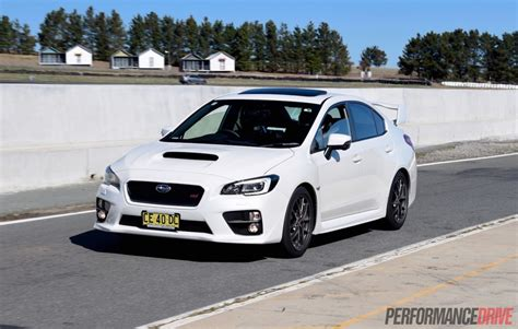 subaru sti 2016 2016 subaru wrx sti review track test video